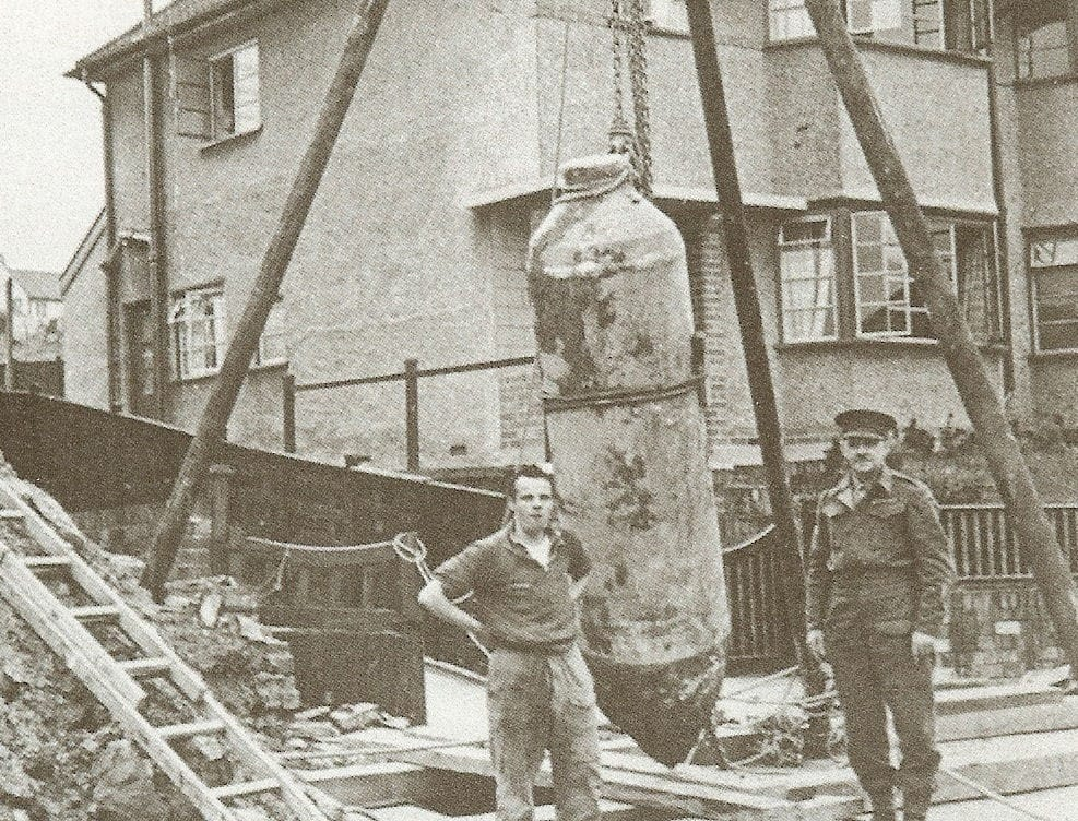 Abandoned Bomb on South West Site
