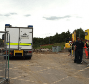 WWII Shell Found at Sheffield Site