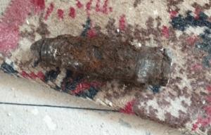 Unexploded Shell Detonated on Norfolk Beach