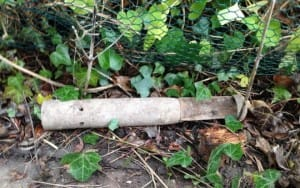 German Incendiary Bomb Found in Warwickshire