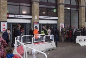 Unexploded Shell Disrupts Cambridge Station