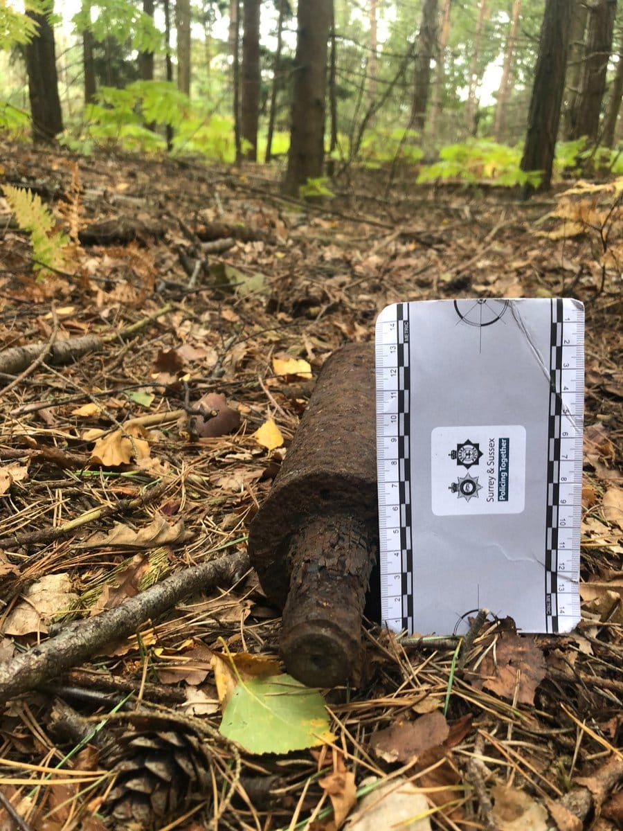 Unexploded Mortars Found at Esher Common