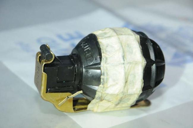Hand Grenade Found at Hampshire Recycling Centre