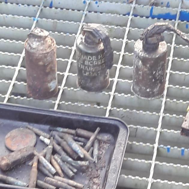 Grenades Discovery Closes Exmouth Recycling Centre