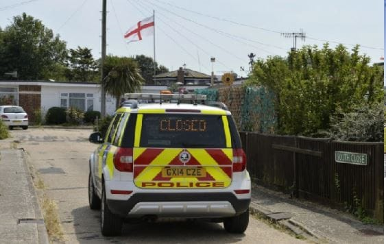 Unexploded WWII Device Found at Pevensey Bay