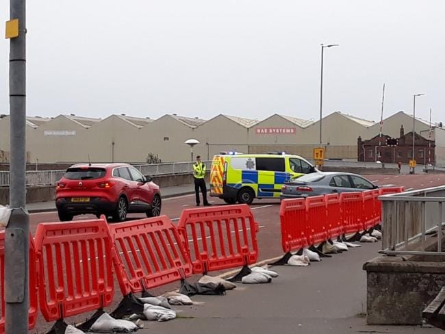 Inert Shells Found at BAE Systems in Barrow