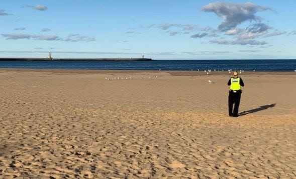 South Shields Beach Closed After Suspected UXB Find