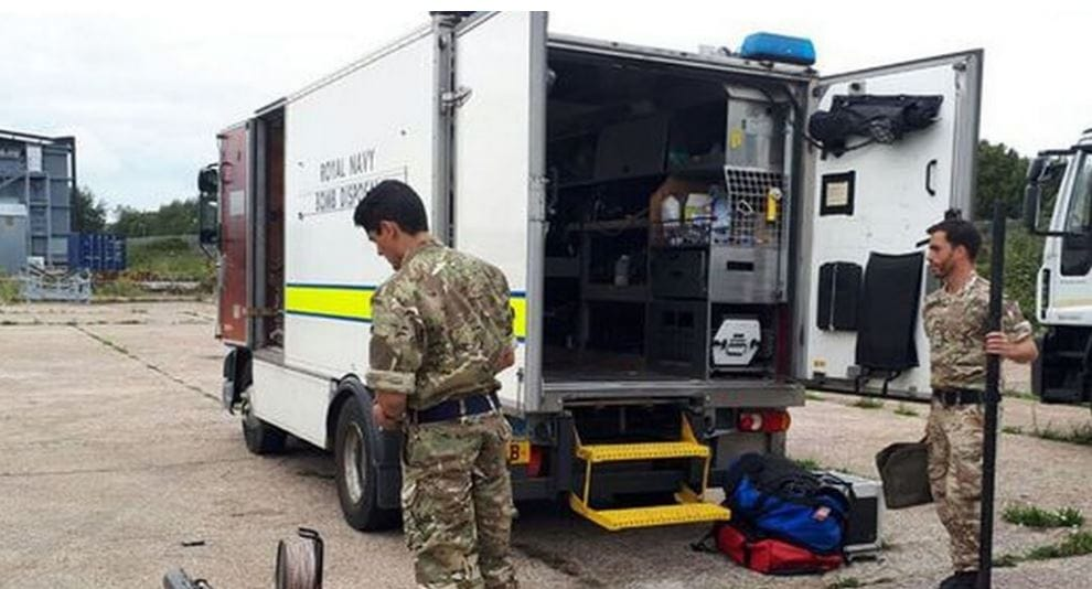 'Smoking' Device Found on Slapton Sands