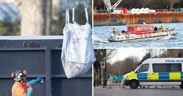Suspected WWII Bomb Found Near Chelsea Embankment