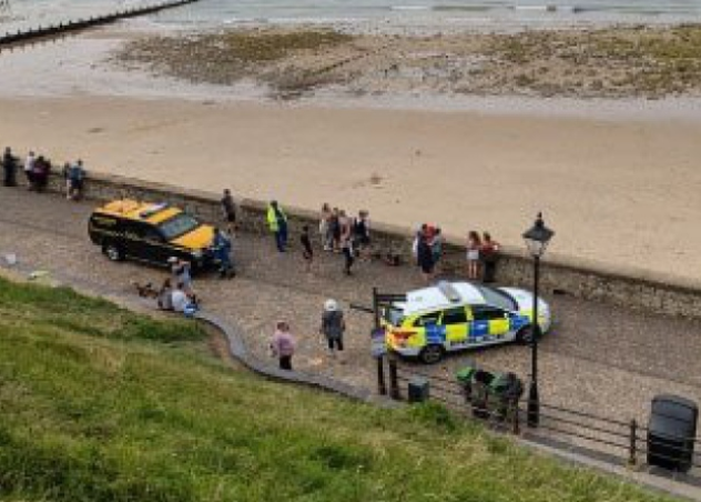 Cromer Pier Cordoned Off After Ordnance Found on Beach