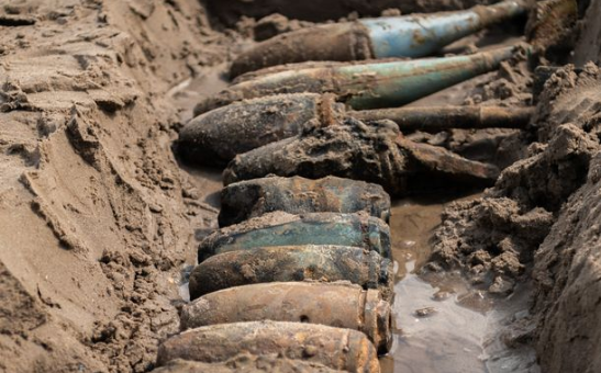 Over 1,000 Bombs Cleared from Former Range on East Yorkshire Beach