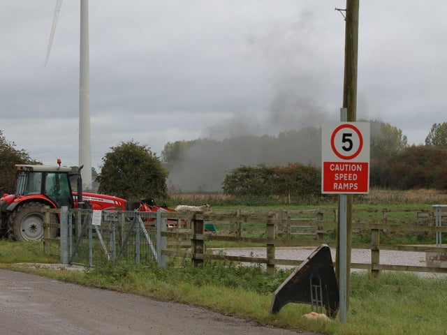 Controlled Explosion for UXO Found at East Yorkshire Wind Farm Site