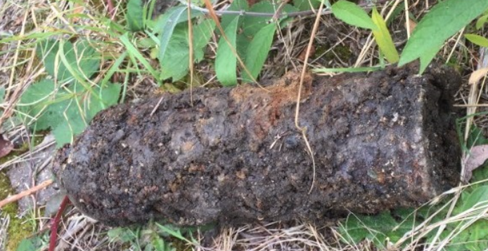 Unexploded Shell Found in Raynes Park Garden