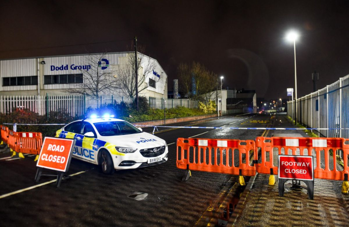 Unexploded Device Found in Canal at Smethwick