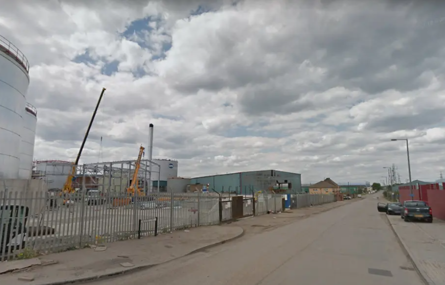 Controlled Explosion for UXO Found in Dagenham