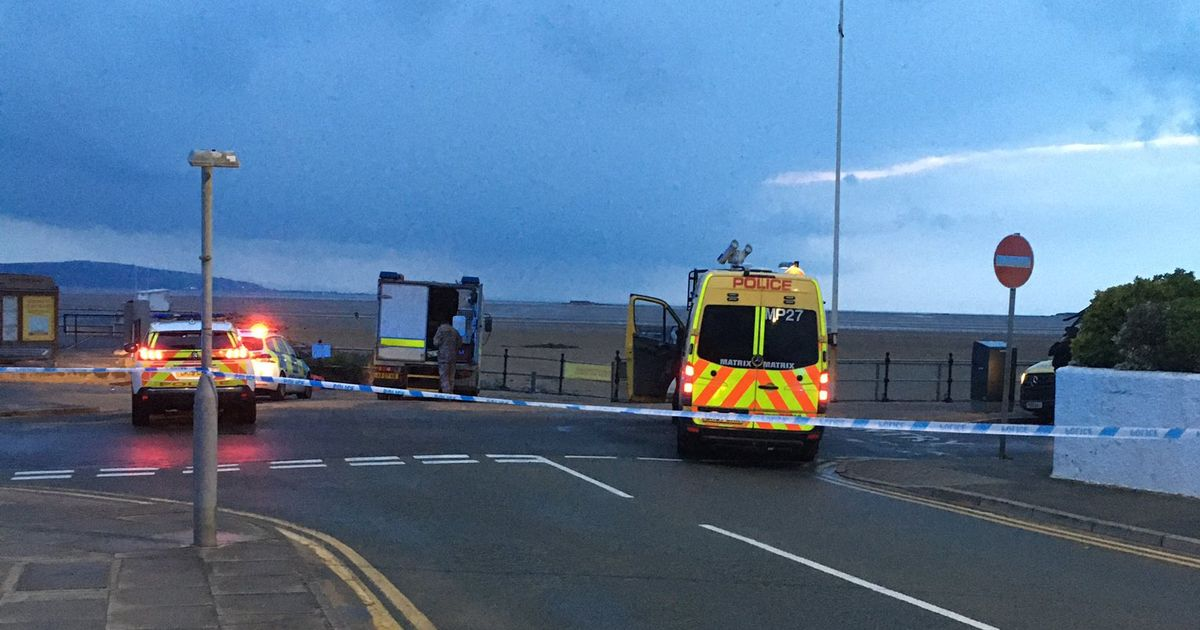 Suspected Mortar Found on West Kirby Beach