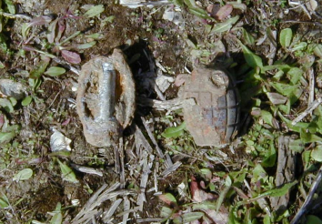 Grenade Found on Huddersfield Towpath